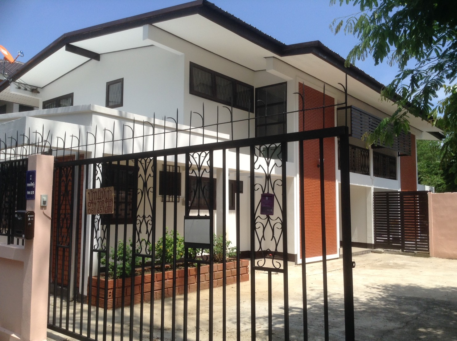 Hr4624 house for rent in city chiang mai for Chiang mai house for rent swimming pool