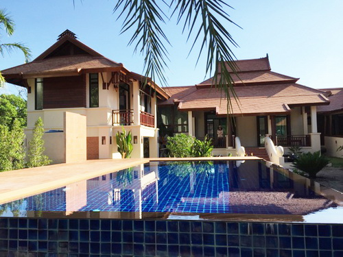 Hs2364 Beautiful House With Private Swimming Pool For Sale In Hang Dong Chiang Mai