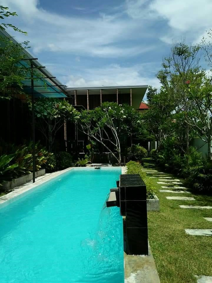 Hs2607 Hr4695 House For Sale With Private Swimming Pool Near Makro Big C And Rim Ping Hang Dong