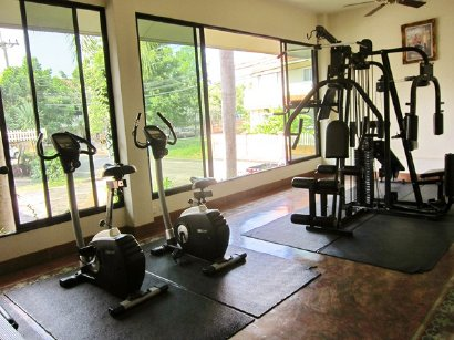 Fitness in club house
